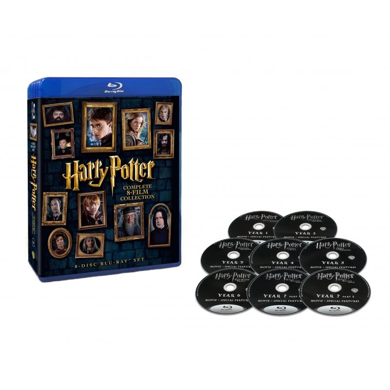 ハリー・ポッター 8-Film ブルーレイセット (8枚組)