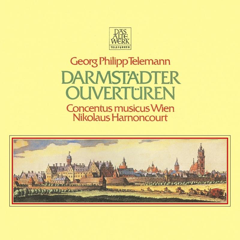 ダルムシュタット管弦楽組曲集 ニコラウス・アーノンクール&ウィーン・コンツェントゥス・ムジクス(2CD)