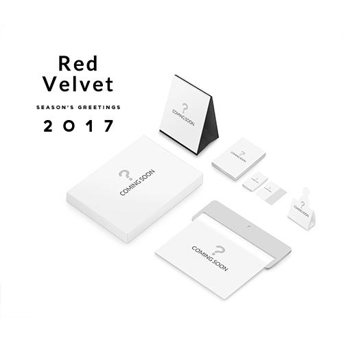 red velvet red velvet 2017 season s greetings calendar goods