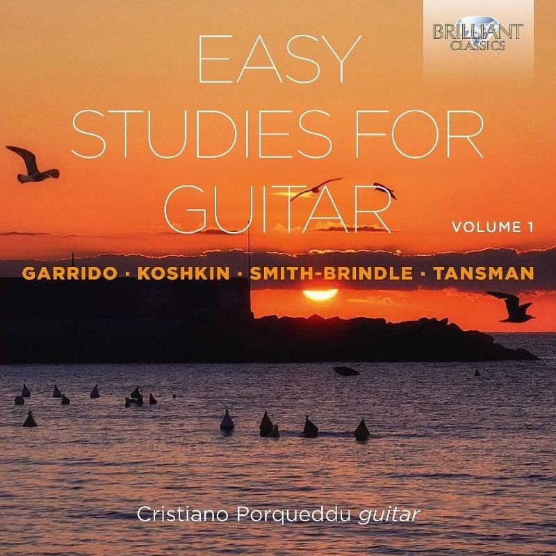 Easy Studies for Guitar Vol.1 : Cristiano Porqueddu (2CD)