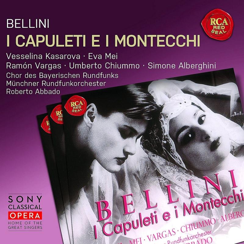 『カプレーティとモンテッキ』全曲 ロベルト・アバド&ミュンヘン放送管弦楽団、ヴェッセリーナ・カサロヴァ、エヴァ・メイ、他(1997 ステレオ)(3CD)