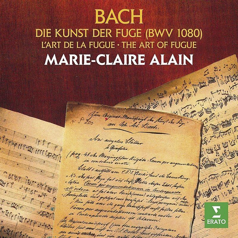 フーガの技法 マリー=クレール・アラン(オルガン)(2CD)