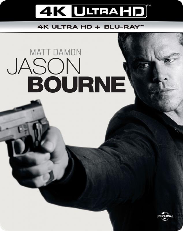 ジェイソン・ボーン [4K ULTRA HD +Blu-rayセット]