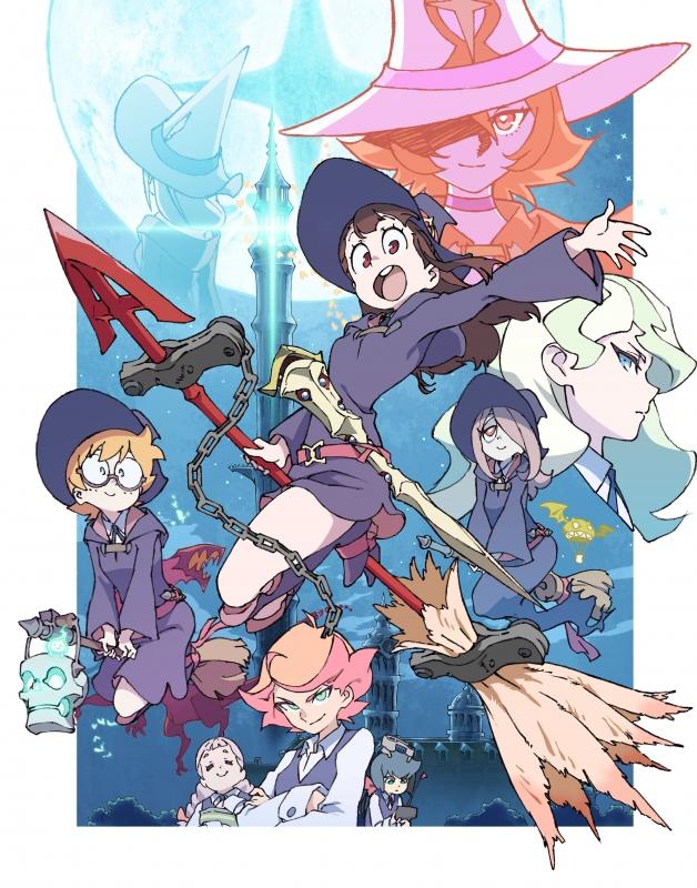 TVアニメ「リトルウィッチアカデミア」Vol.8 Blu-ray 初回生産限定版