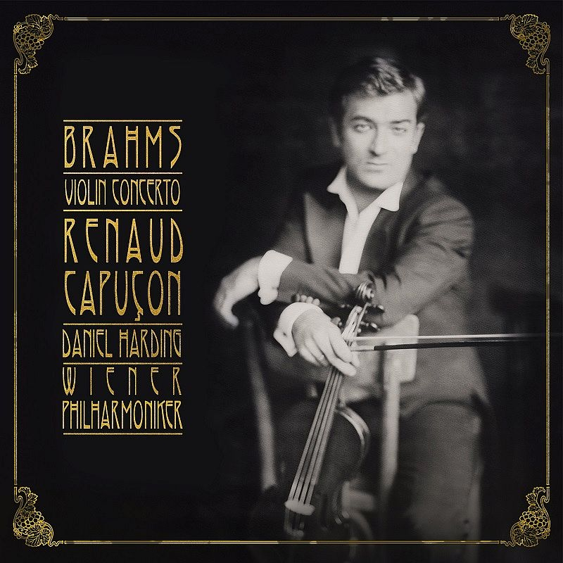 Violin Concerto : Renaud Capucon(Vn)Daniel Harding / Vienna Philharmonic