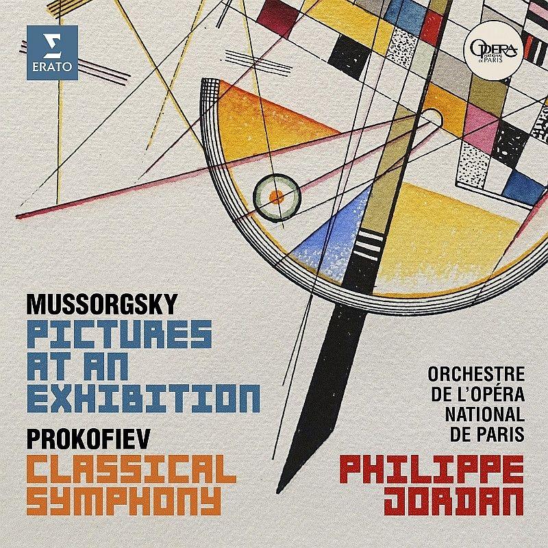 ムソルグスキー:展覧会の絵、プロコフィエフ:古典交響曲 フィリップ・ジョルダン&パリ・オペラ座管弦楽団