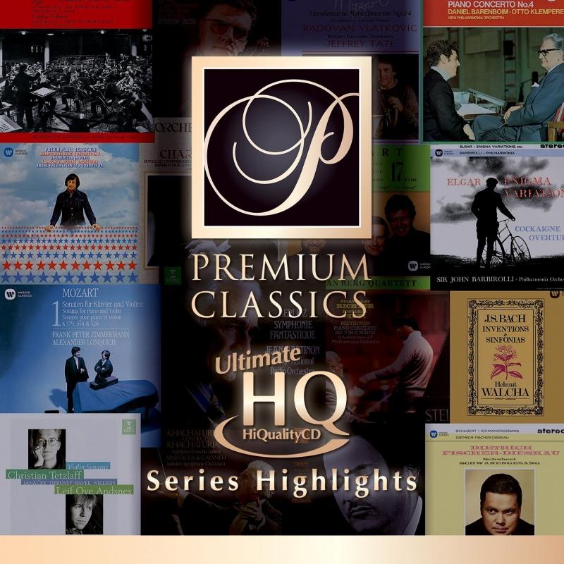 『プレミアム・クラシックス(UHQCD)』シリーズ・ハイライト(+CD)