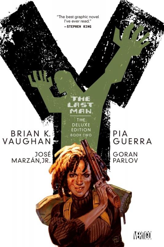 Y:THE LAST MAN 2 GRAFFICA NOVELS
