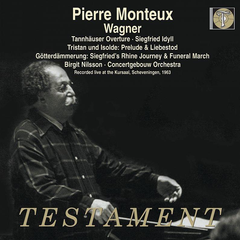 『トリスタンとイゾルデ』より、『神々の黄昏』より、ジークフリート牧歌、他 ピエール・モントゥー&コンセルトヘボウ管弦楽団、ビルギット・ニルソン(2CD)