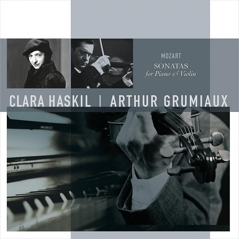 ヴァイオリン・ソナタ集 K.301、304、376、378:アルテュール・グリュミオー(ヴァイオリン)、クララ・ハスキル(ピアノ)(アナログレコード/Vinyl Passion Classical)