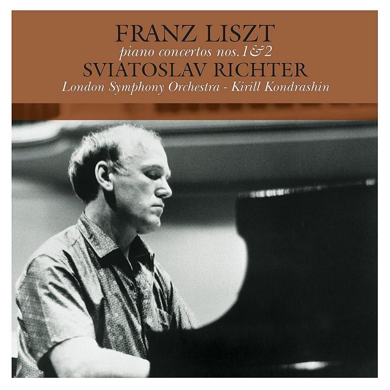 ピアノ協奏曲第1番、第2番:スヴャトスラフ・リヒテル(ピアノ)、キリル・コンドラシン指揮&ロンドン交響楽団 (アナログレコード/Vinyl Passion Classical)