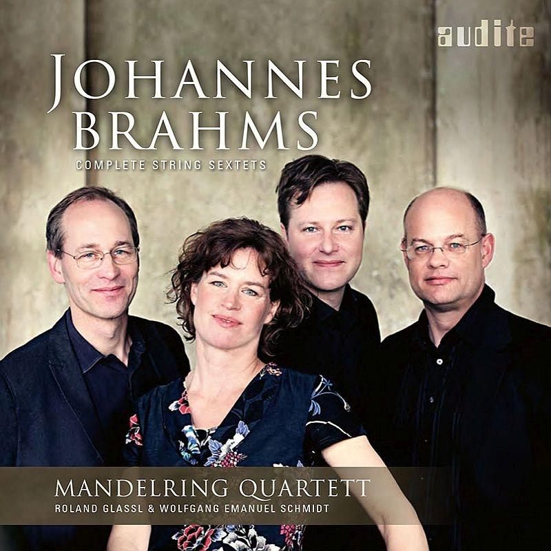 弦楽六重奏曲第1番、第2番 マンデルリング四重奏団、ローラント・グラッスル、ヴォルフガング・エマヌエル・シュミット