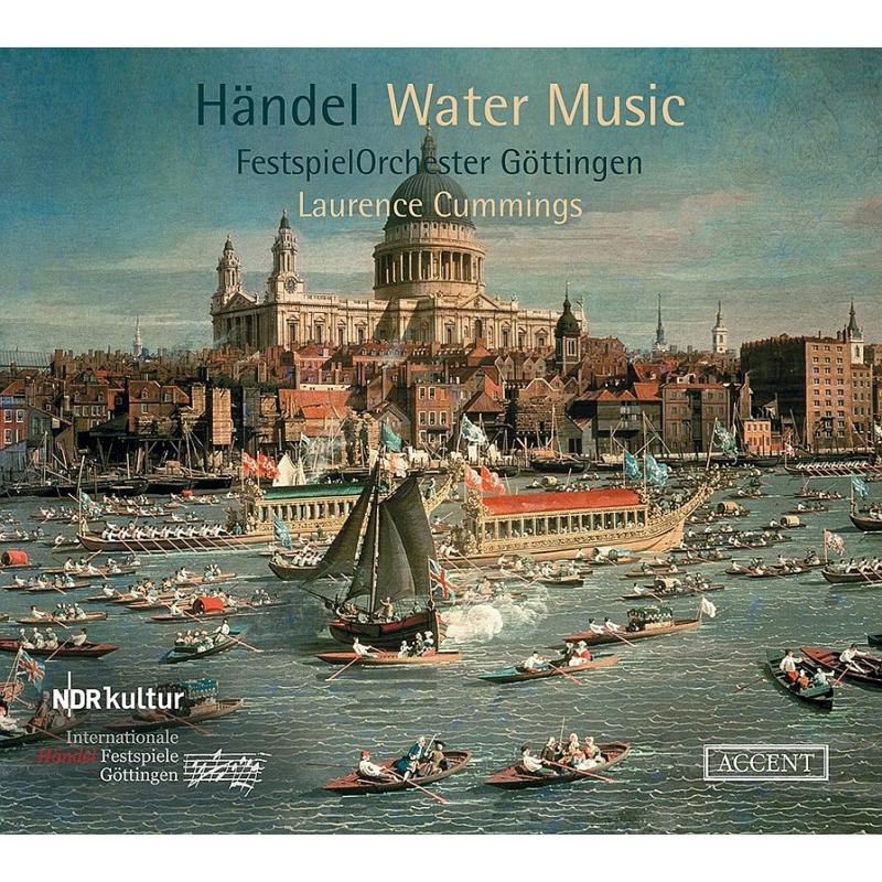 水上の音楽、合奏協奏曲『アレクサンダーの饗宴』 ローレンス・カミングズ&ゲッティンゲン・ヘンデル祝祭管弦楽団