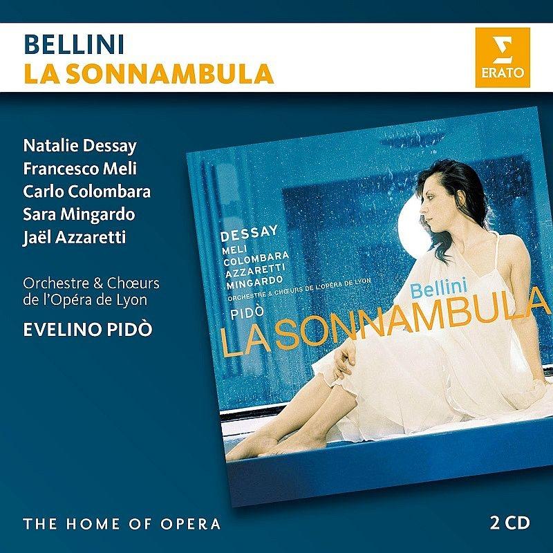 『夢遊病の女』全曲 エヴェリーノ・ピド&リヨン歌劇場、ナタリー・デセイ、フランチェスコ・メーリ、他(2006 ステレオ)(2CD)