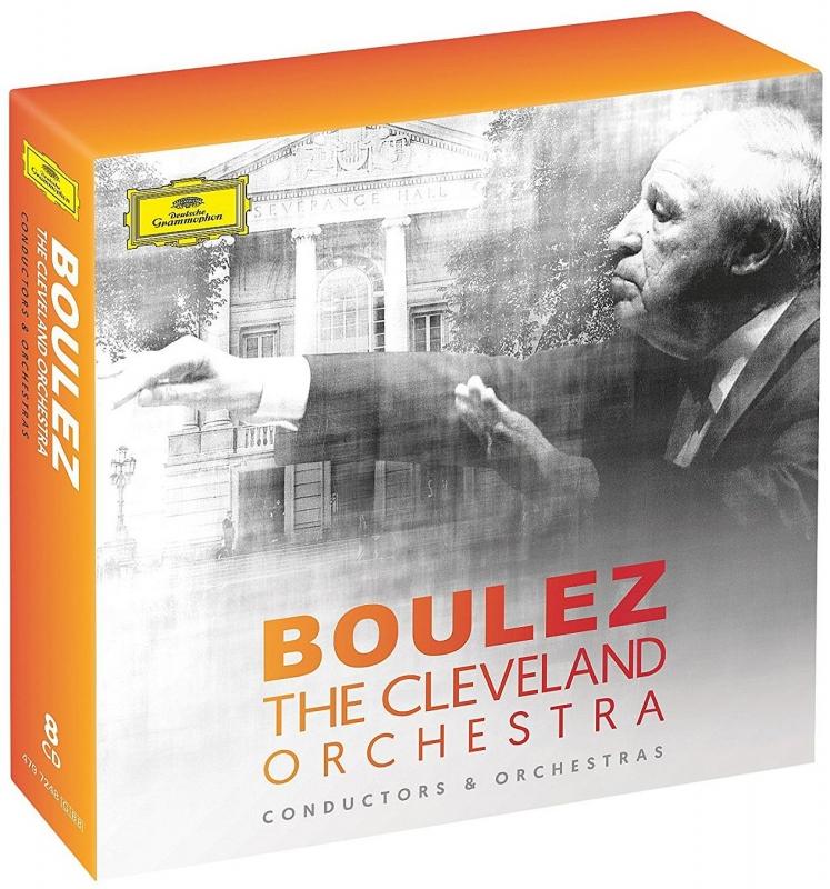 ピエール・ブーレーズ&クリーヴランド管弦楽団、DG録音集(8CD)