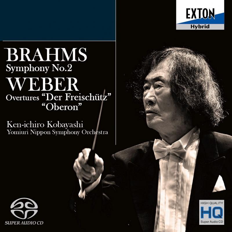ブラームス:交響曲第2番、ウェーバー:『魔弾の射手』序曲、『オベロン』序曲 小林研一郎&読売日本交響楽団