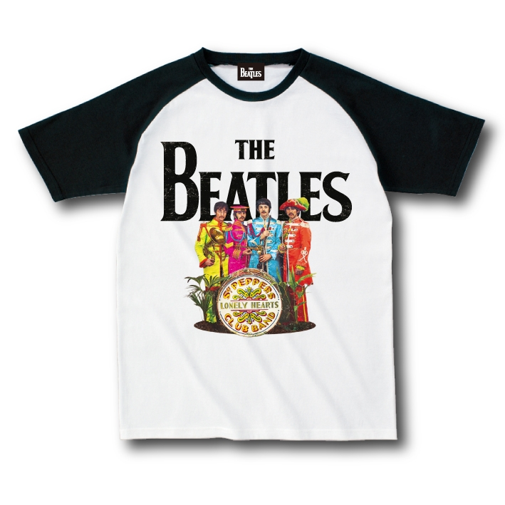 Sgt.Pepper's Lonely Hearts Club Band 50th Raglan A White S
