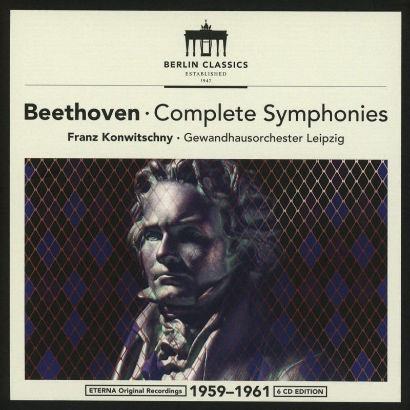 交響曲全集 フランツ・コンヴィチュニー&ライプツィヒ・ゲヴァントハウス管弦楽団(6CD)