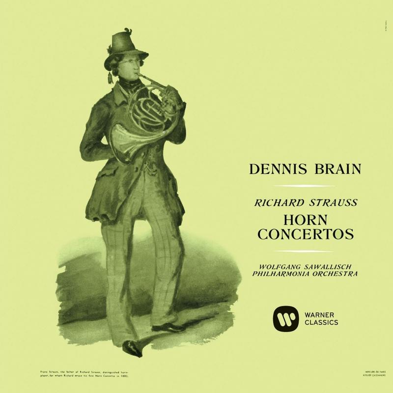 R.シュトラウス:ホルン協奏曲第1番、第2番、ヒンデミット:ホルン協奏曲 デニス・ブレイン、サヴァリッシュ、ヒンデミット、フィルハーモニア管弦楽団