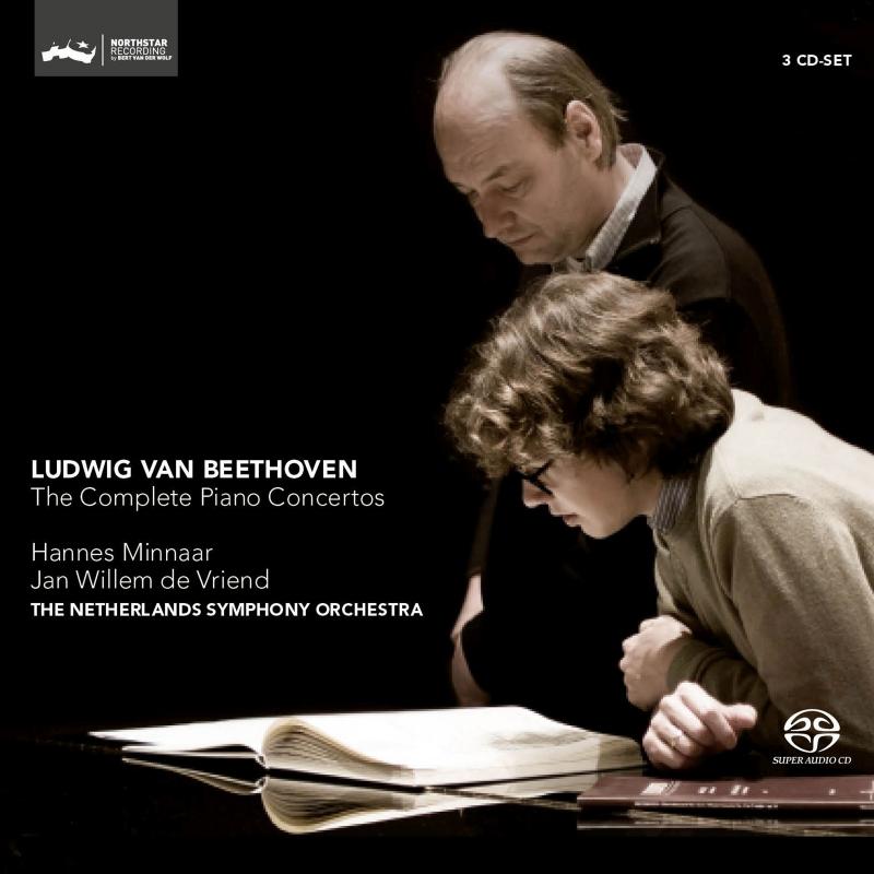 ピアノ協奏曲全集 ハンネス・ミンナール、ヤン・ヴィレム・デ・フリエンド&ネザーランド交響楽団(3SACD)