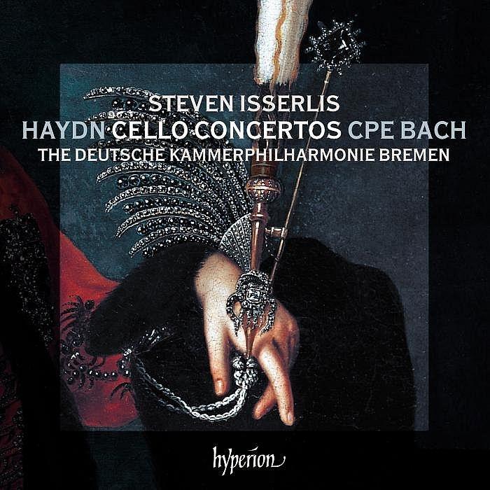 ハイドン:チェロ協奏曲第1番、第2番、C.P.E.バッハ:チェロ協奏曲、他 スティーヴン・イッサーリス、ドイツ・カンマーフィル