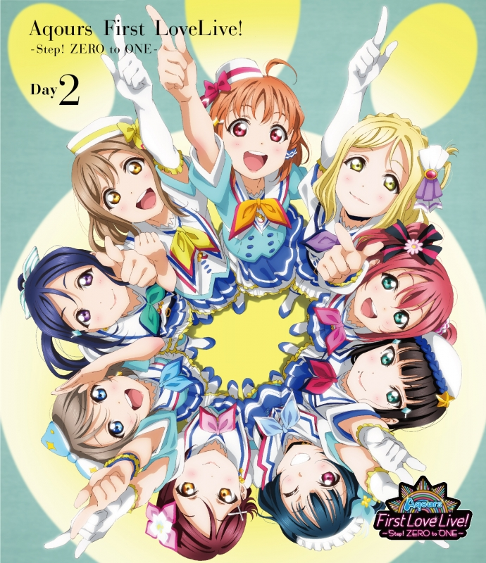 ラブライブ!サンシャイン!! Aqours First LoveLive! 〜Step! ZERO to ONE〜Day2【Blu-ray】