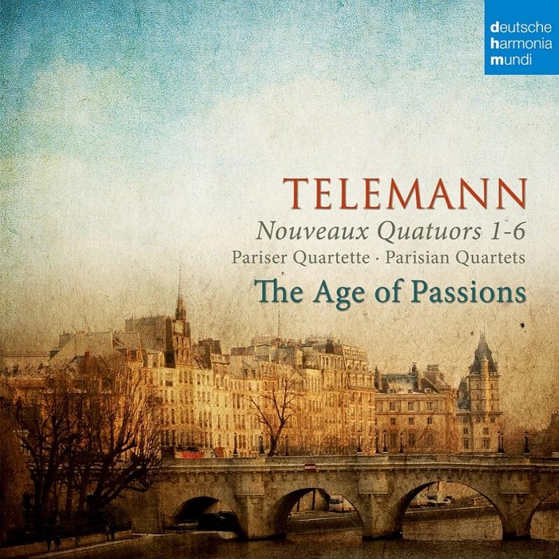 Paris Quartet, 1-6, : The Age Of Passions(Hille Perl Lee Santana Etc)