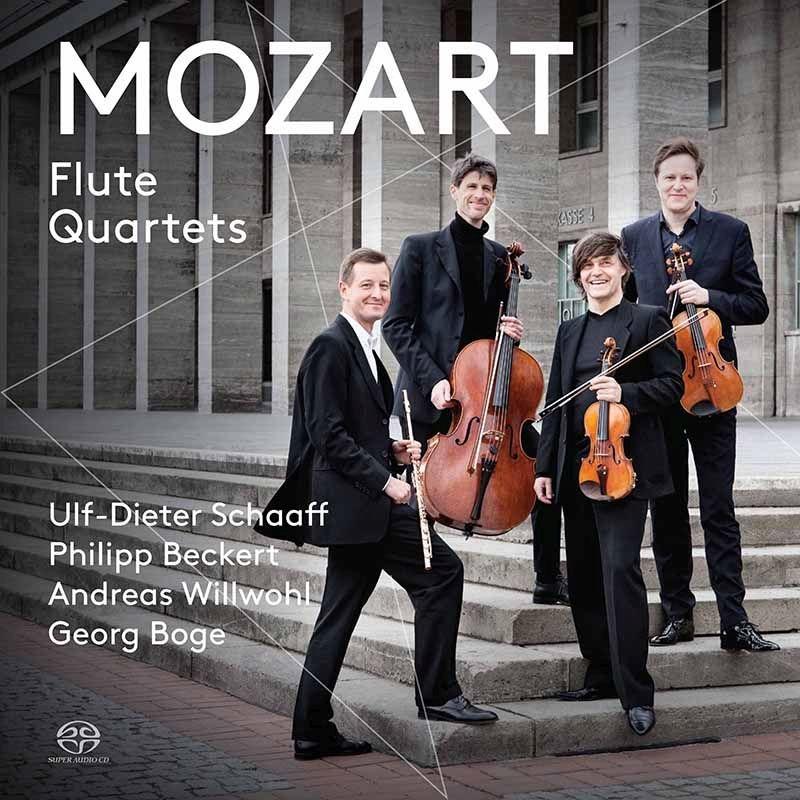 フルート四重奏曲集 ウルフ=ディーター・シャーフ、フィリップ・ベッケルト、アンドレアス・ヴィルヴォール、ゲオルグ・ボーゲ