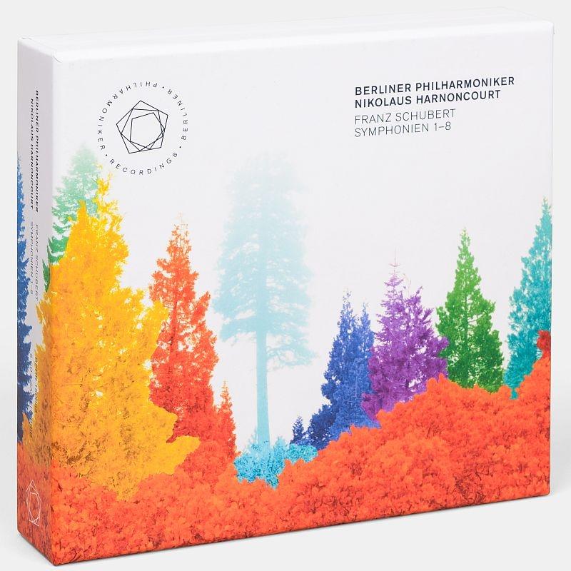 Complete Symphonies : Nikolaus Harnoncourt / Berlin Philharmonic (5SACD)