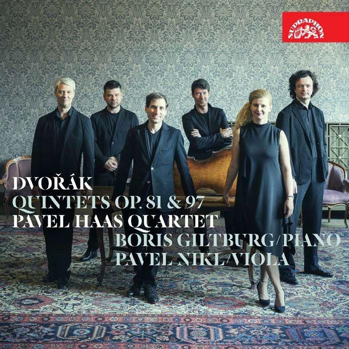 ピアノ五重奏曲、弦楽五重奏曲第3番 パヴェル・ハース四重奏団、ボリス・ギルトブルク、パヴェル・ニクル