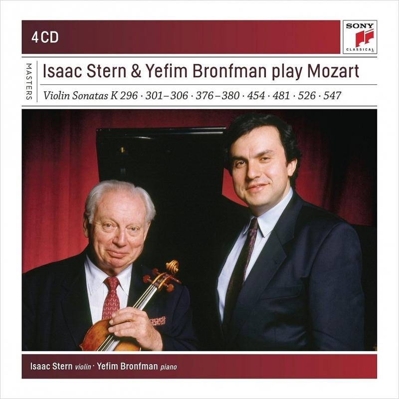 ヴァイオリン・ソナタ集 アイザック・スターン、イェフィム・ブロンフマン(4CD)