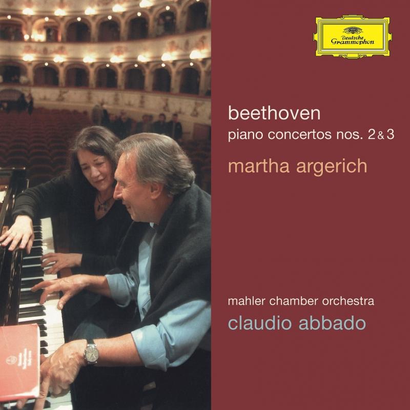 ピアノ協奏曲第2番、第3番 マルタ・アルゲリッチ、クラウディオ・アバド&マーラー・チェンバー・オーケストラ