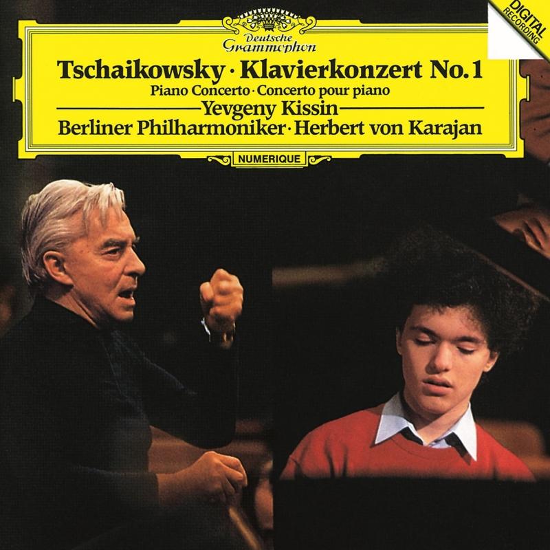 チャイコフスキー:ピアノ協奏曲第1番、スクリャービン:4つの小品、他 エフゲニー・キーシン、ヘルベルト・フォン・カラヤン&ベルリン・フィル