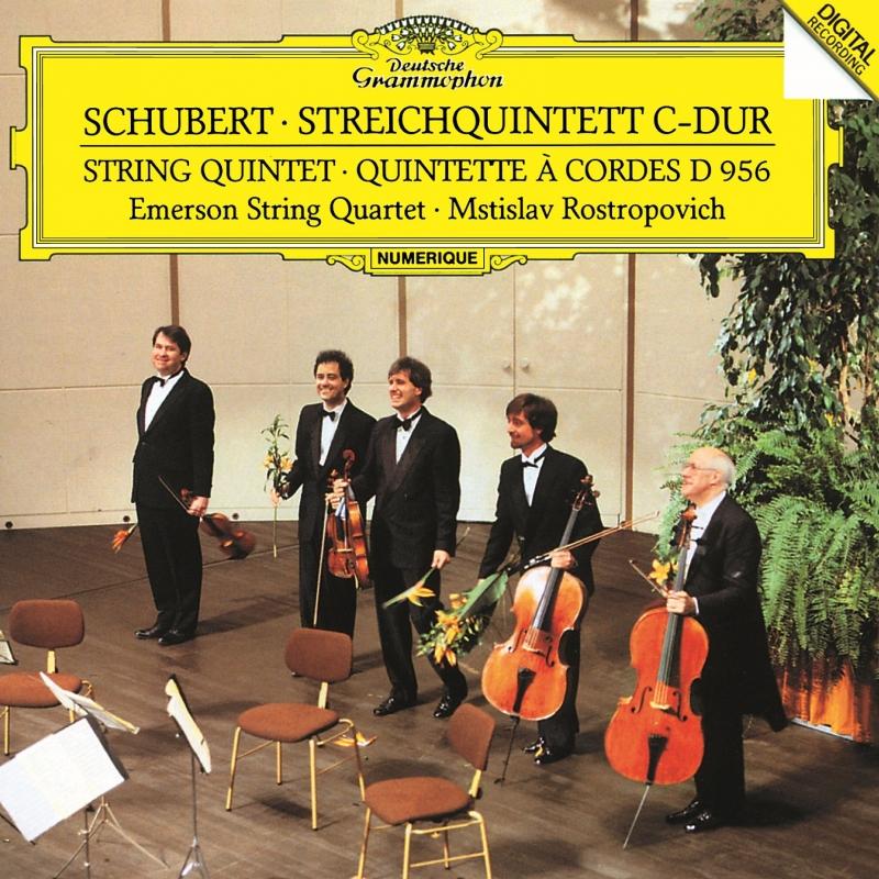 弦楽五重奏曲 エマーソン弦楽四重奏団、ムスティスラフ・ロストロポーヴィチ
