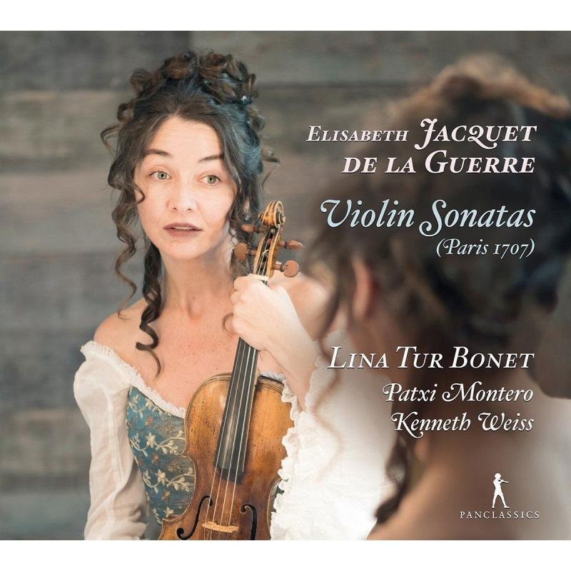 Violin Sonatas: Lina Tur Bonet(Vn)P.montero(Gamb)K.weiss(Cemb)