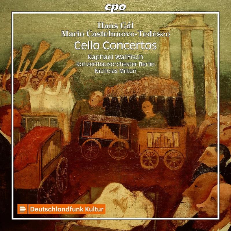 ガル:チェロ協奏曲、カステルヌ...