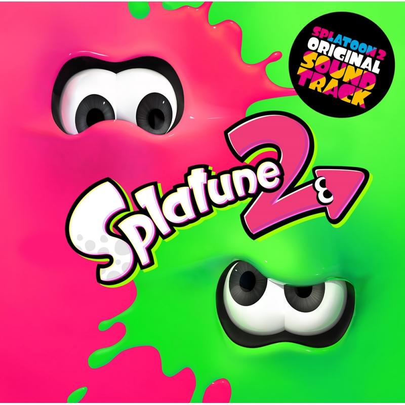 『Splatoon2 ORIGINAL SOUNDTRACK -Splatune2-』【2CD 初回仕様限定盤】