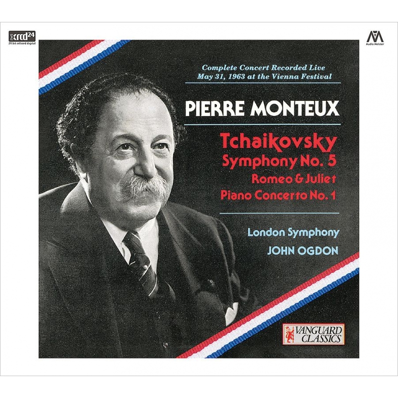交響曲第5番、ピアノ協奏曲第1番、『ロメオとジュリエット』 ピエール・モントゥー&ロンドン交響楽団、ジョン・オグドン(1963ステレオ・ライヴ)(2CD)