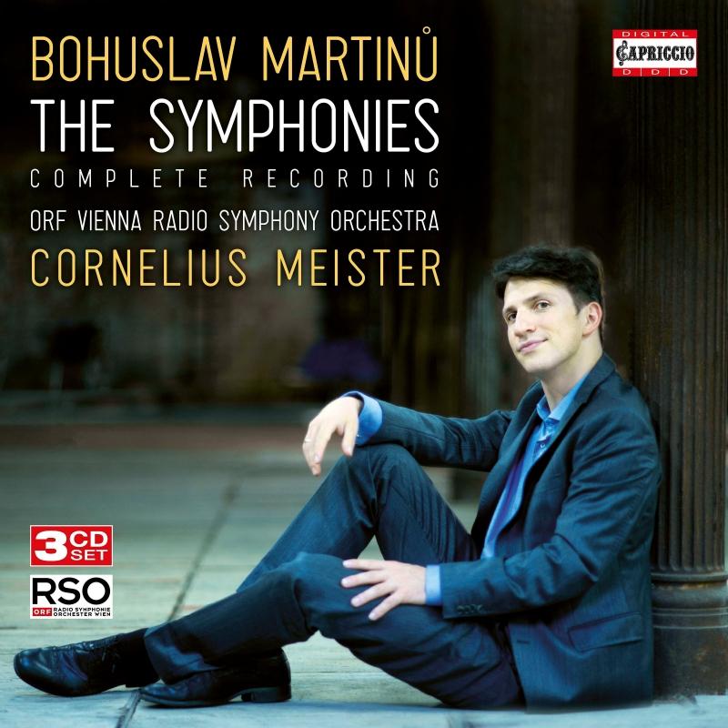 交響曲全集 コルネリウス・マイスター&ウィーン放送交響楽団(3CD)