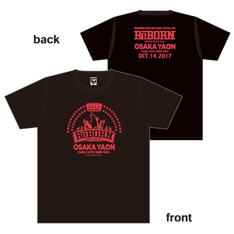 限定Tシャツ(ブラック×レッド)M