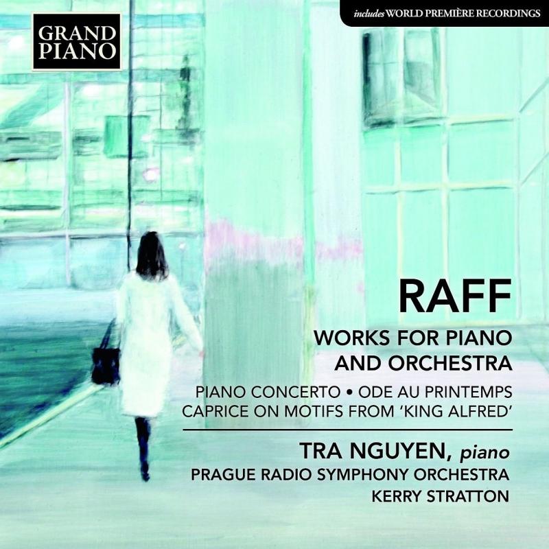 ピアノ協奏曲、春への頌歌、『アルフレート王』の主題による奇想曲 チャ・グエン、ケリー・ストラットン&プラハ放送交響楽団