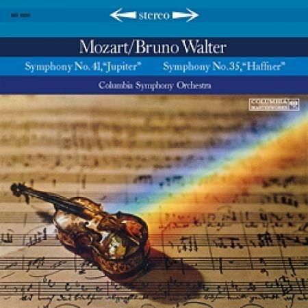交響曲第35番、41番:ブルーノ・ワルター指揮&コロンビア交響楽団 (180グラム重量盤レコード/Speakers Corner)