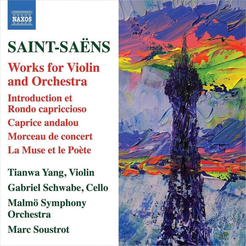 ヴァイオリンと管弦楽のための作品集 ヤン・ティエンワ、スーストロ&マルメ交響楽団、ガブリエル・シュヴァーベ