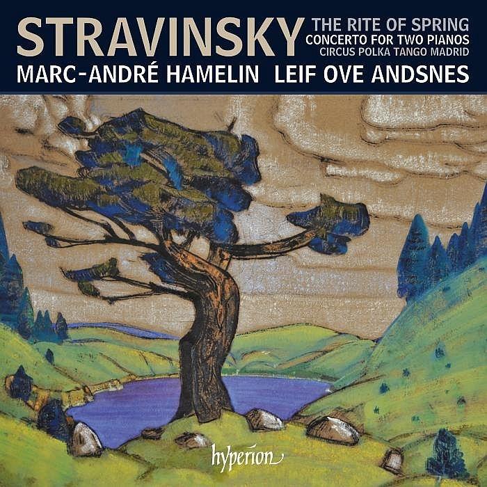 春の祭典(2台ピアノ版)、2台のピアノのための協奏曲、他 マルカンドレ・アムラン、レイフ・オヴェ・アンスネス