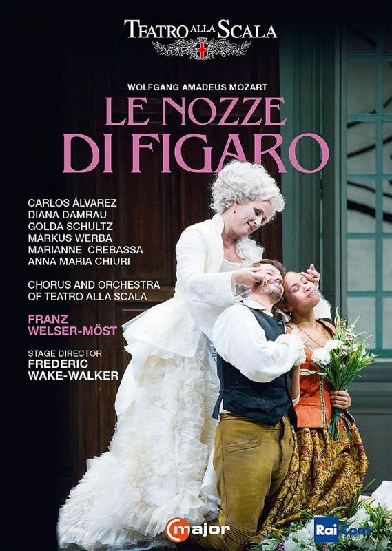 『フィガロの結婚』全曲 W-ウォーカー演出、ヴェルザー=メスト&スカラ座、C.アルバレス、ダムラウ、他(2016 ステレオ)(日本語字幕付)(2DVD)(日本語解説付)
