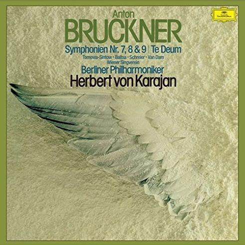 交響曲第7番、第8番、第9番、テ・デウム ヘルベルト・フォン・カラヤン&ベルリン・フィル(1975-76)(3SACD)(シングルレイヤー)