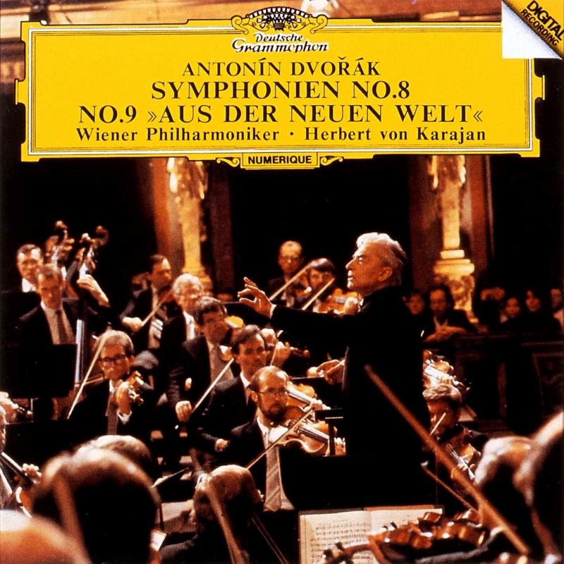 交響曲第9番『新世界より』、第8番 ヘルベルト・フォン・カラヤン&ウィーン・フィル