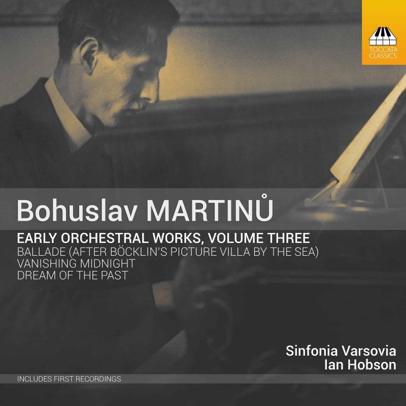 初期管弦楽作品集 第3集 イアン・ホブソン&シンフォニア・ヴァルソヴィア