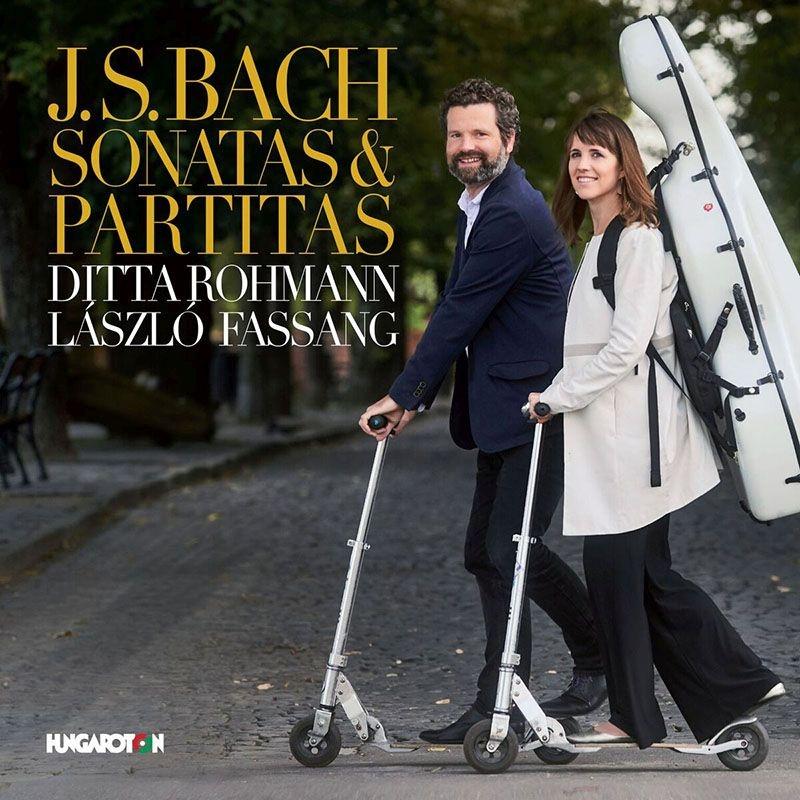 ヴァイオリン・ソナタ第2番、第3番、無伴奏ヴァイオリン・パルティータ第3番、他 ディッタ・ローマン(チェロ・ピッコロ)、ファッサン・ラスロ(オルガン)