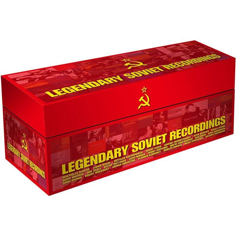 レジェンダリー・ソヴィエト・レコーディングス(100CD)